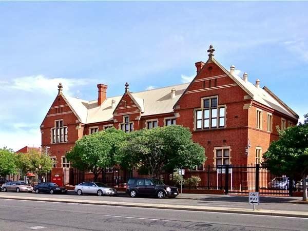 Paul scott historic adelaide currie street model school for 208 south terrace adelaide